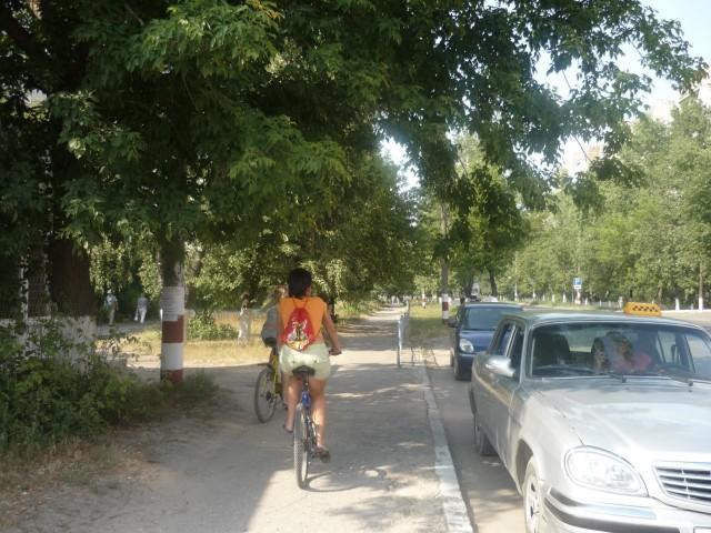 К слову о велосипедах:)