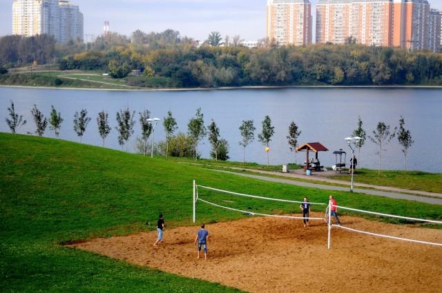 На Борисовских прудах Северного Орехова-Борисова