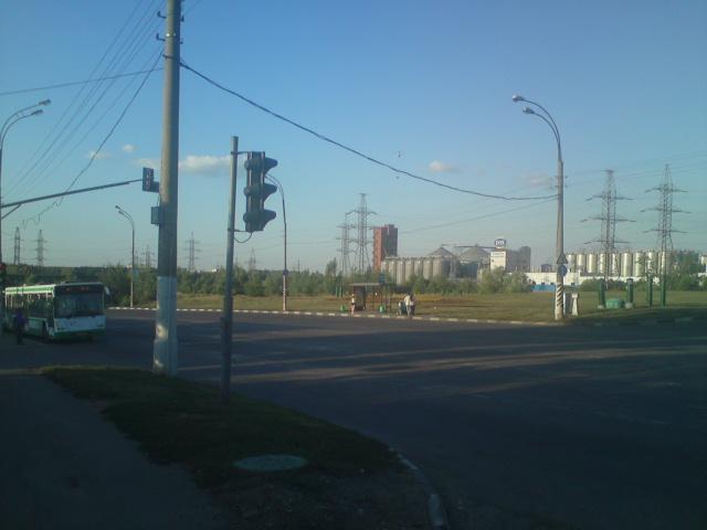 На подступах к пивоварне Москва-Эфес
