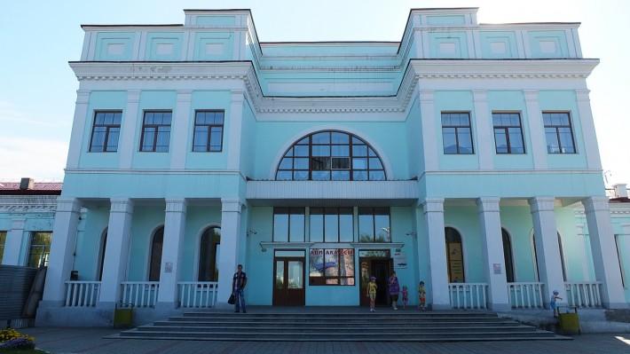 ЖД вокзал в Уссурийске