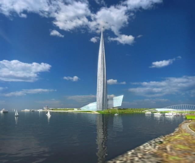 Лахта — башня, проект