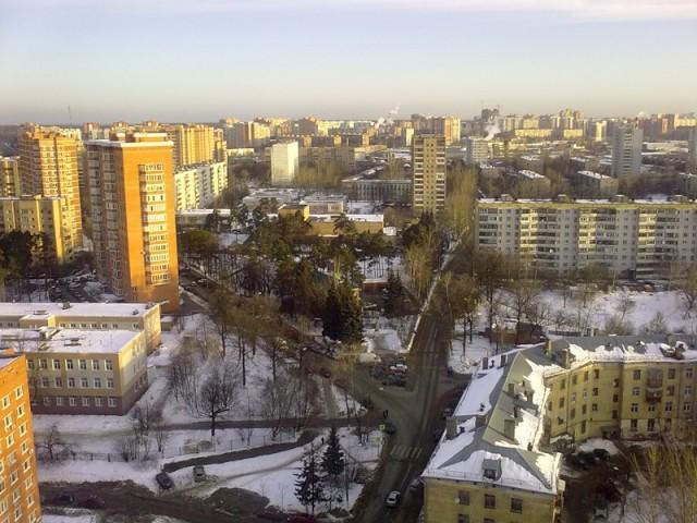 Зима в Одинцово