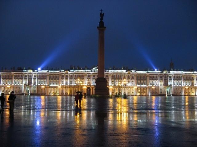 Санкт-Петербург. Дворцовая площадь. Зимний дворец. Осень 2011 года.