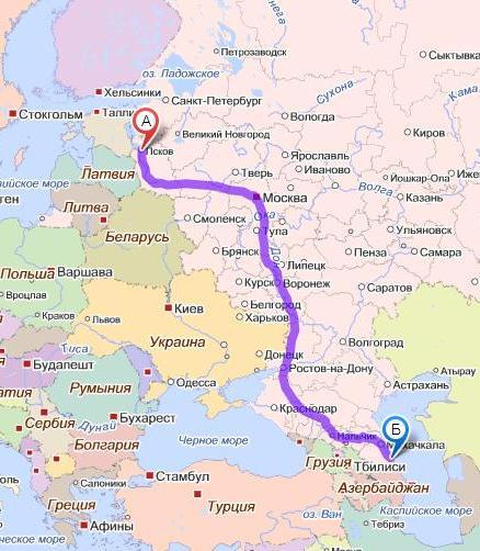 Мой путь по России
