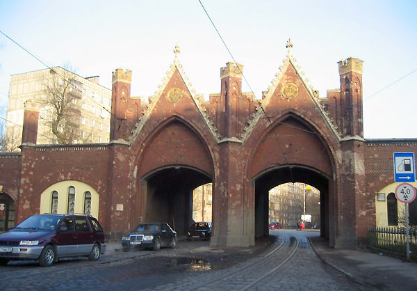 Еще одни городские ворота