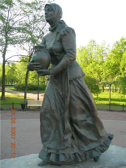 Скульптура Охтинки