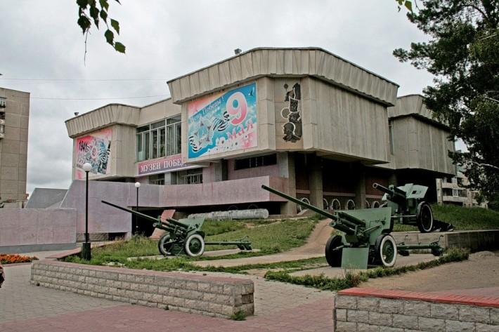 Музей победы и «Голуби мира»