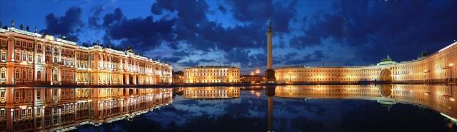 Панорама Дворцовой площади