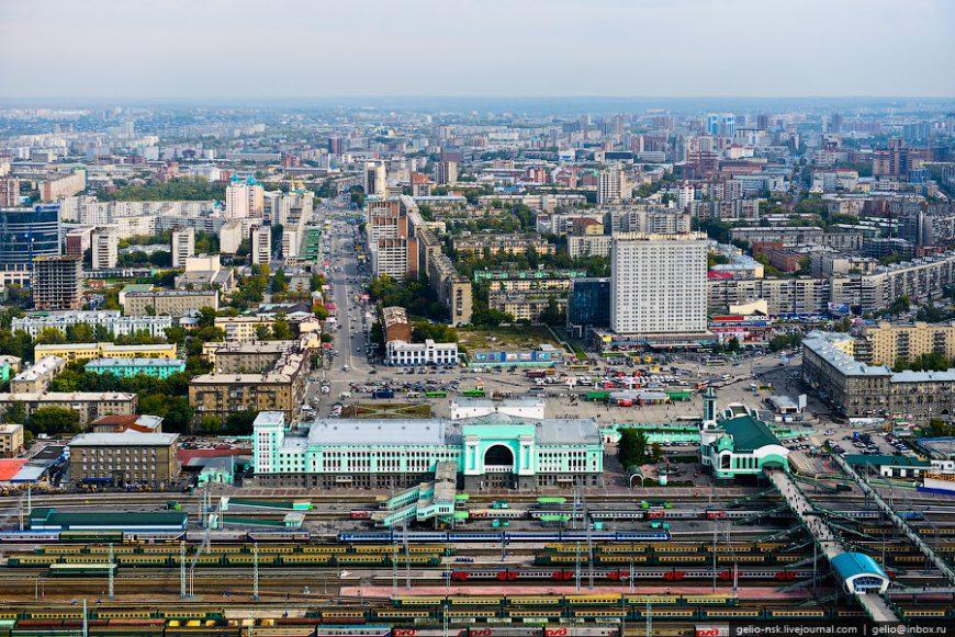 """Железнодорожный вокзал """"Новосибирск-Главный"""""""