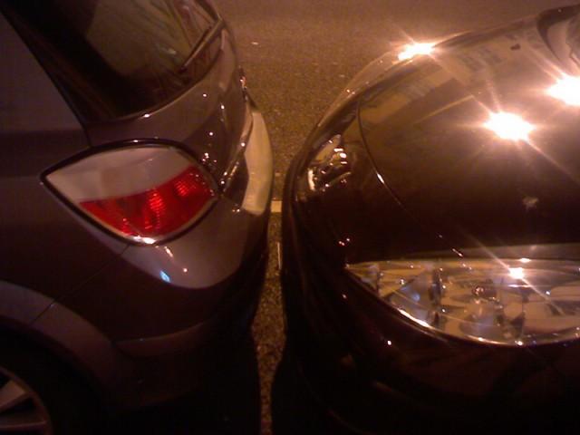 Обычное явление на парковке