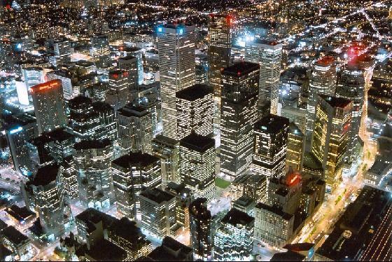 Город Канады. Торонто