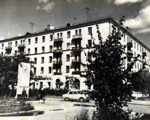 Площадь Славы в советские времена