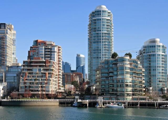 Если повезет, то любой из вас может работать в одном из этих небоскребов Британской Колумбии