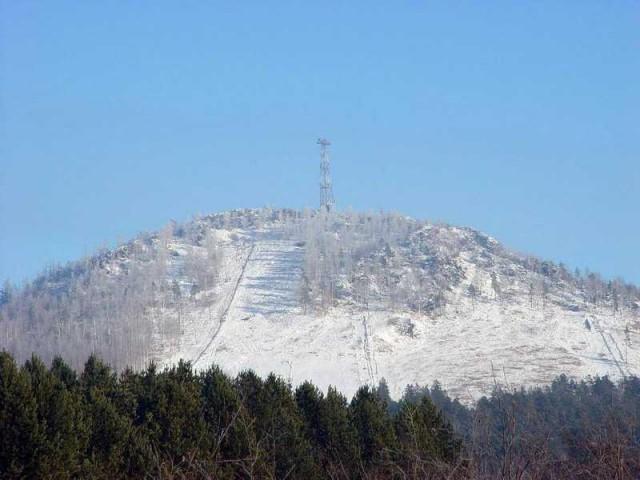 Гора Пильная, любимое место зимнего отдыха для первоуральцев