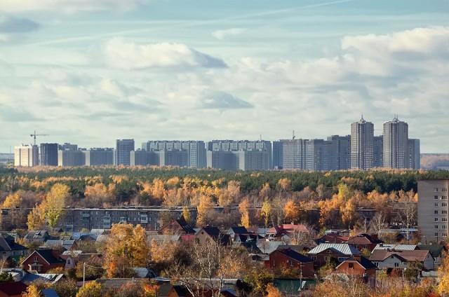 Район Кузнечики Подольска