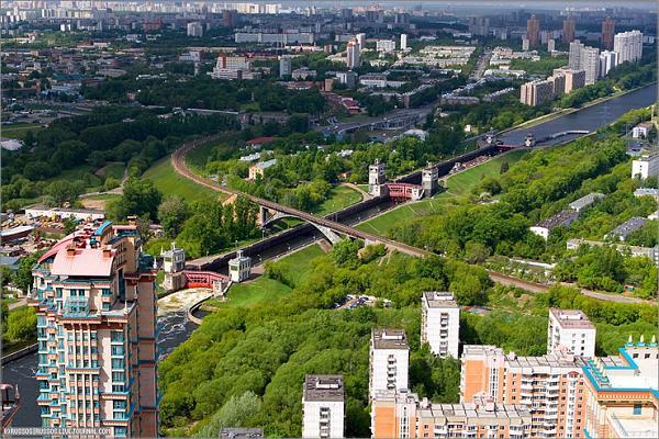Панорама района Покровское-Стрешнево