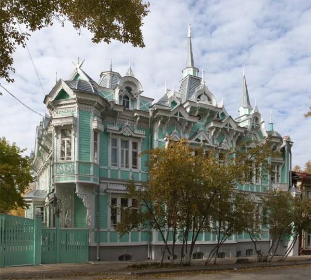 Памятник деревянного зодчества по улице Белинского