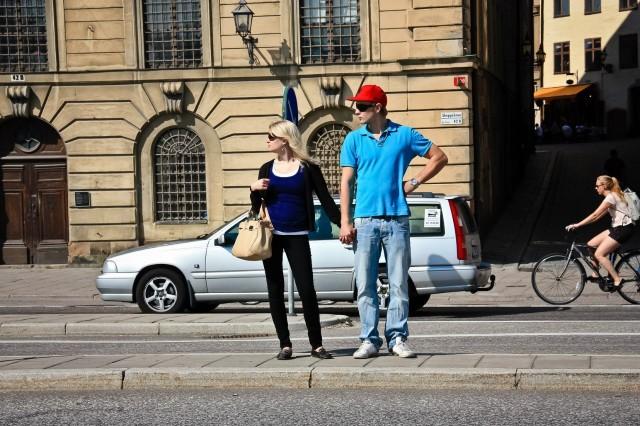Я с мужем на улице