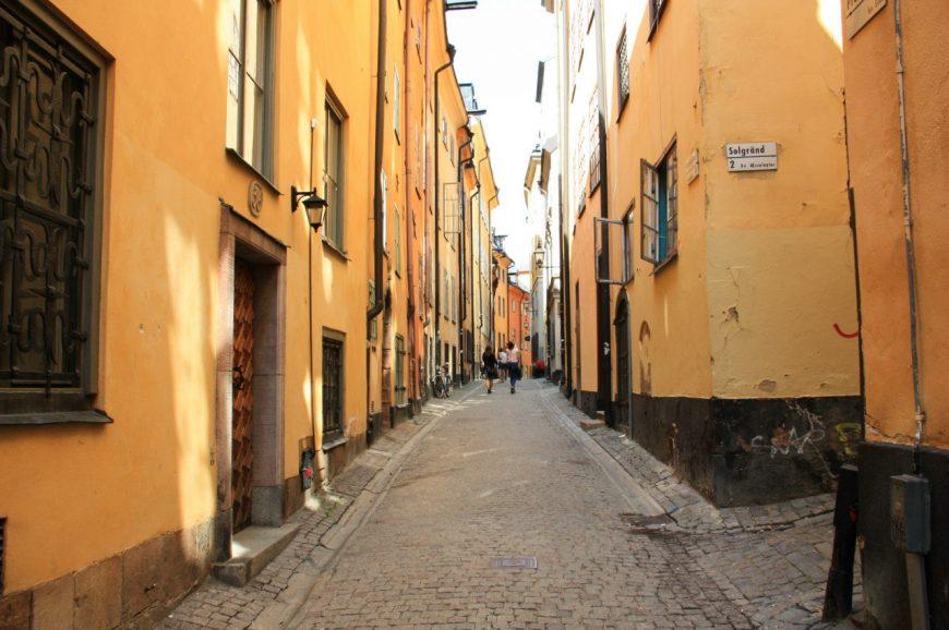 Улица Салгренд