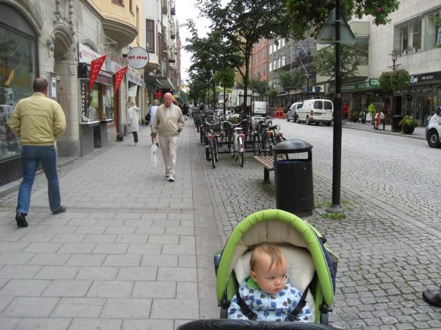 Улица Мортене Тротцига