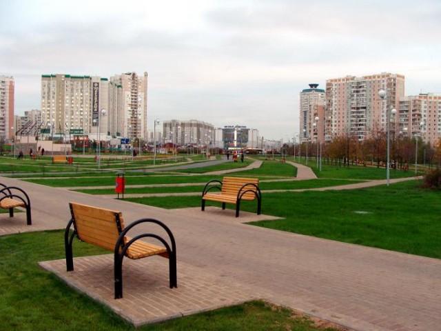 Современный жилой район Марьинский Парк