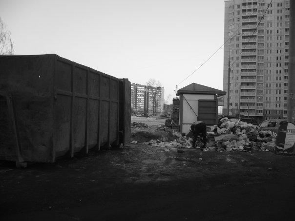 Задержали вывоз мусора…