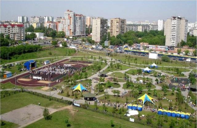 Парковая зона в Люблино