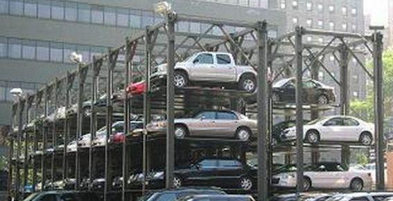 Парковка на 5000 мест в ЮВАО