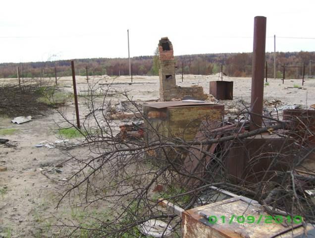 Остатки деревни