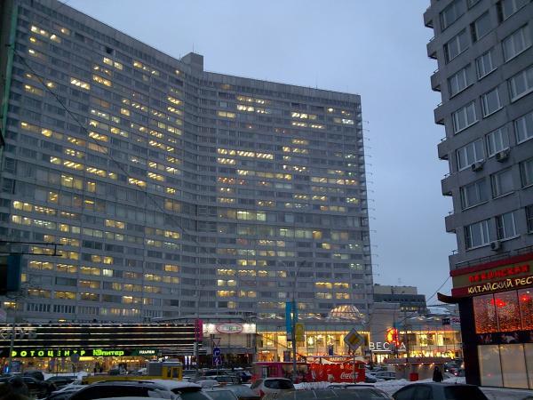 Советские «небоскребы» на Новом Арбате
