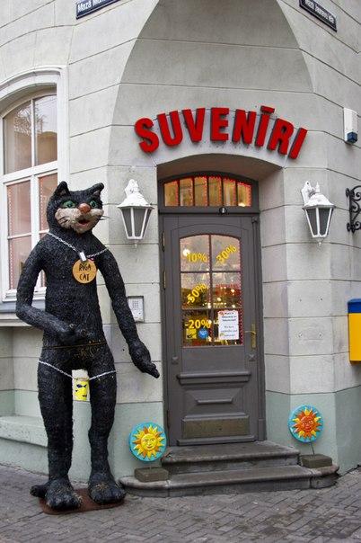 Сувенирный магазин в Риге