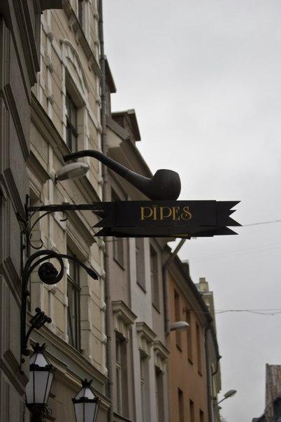 Ресторан Pipes в Риге