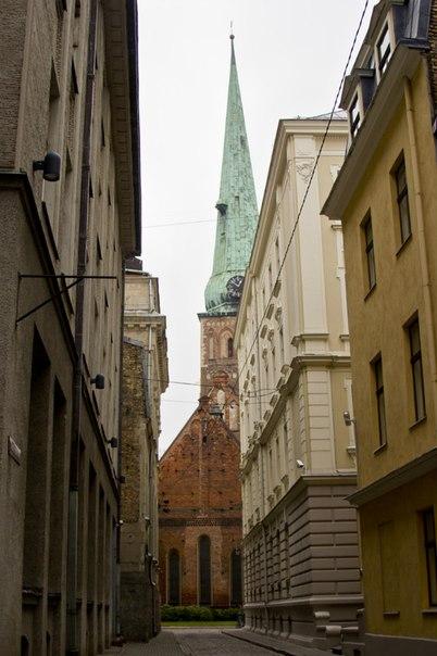Одна из улиц в Старом Городе