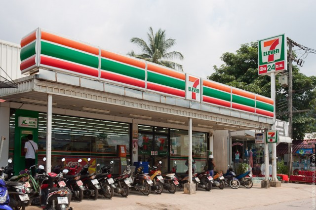 Магазин 7-Eleven – друг человека в Таиланде