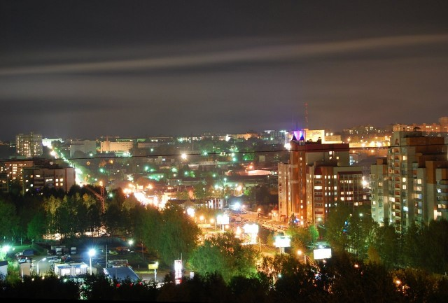 Ночной Киров