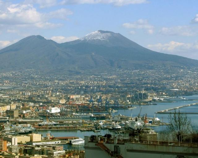 Везувий — визитная карточка Неаполя