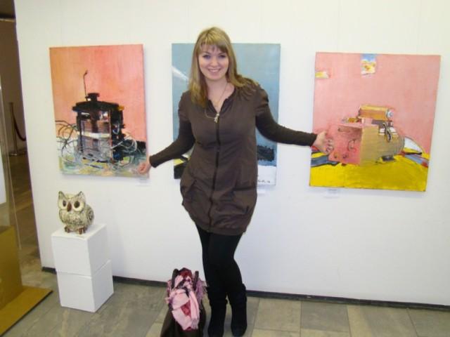В галерее свободного искусства в Смоленске