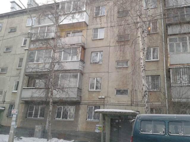 Обычная хрущевка в Иркутске