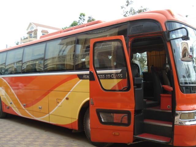 Автобус от Пойпета до Сием Рипа, 9$ с человека