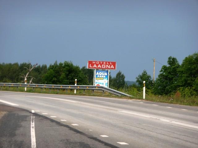 Недалеко от остановки в Тарту