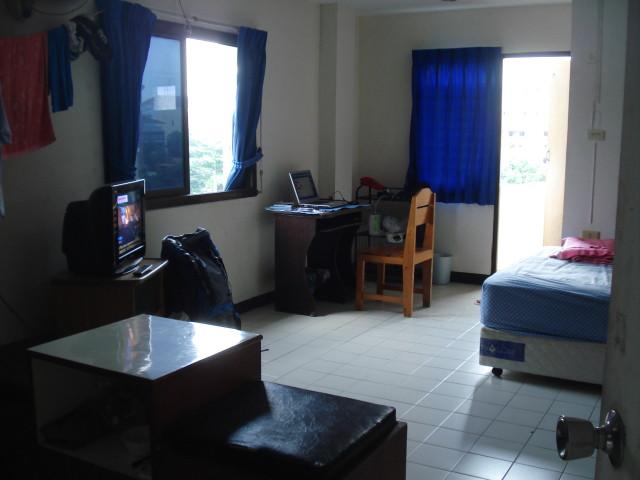 Одна из комнат в которых я жил за 4.500 бат в месяц