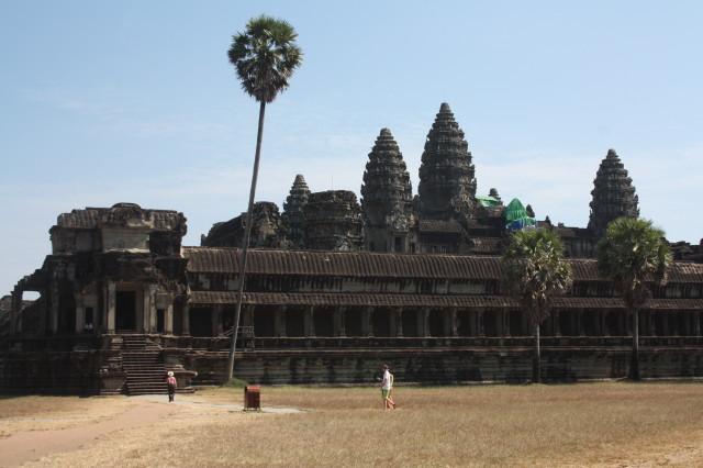 Ангкор-Ват - главная достопримечательность Камбоджи