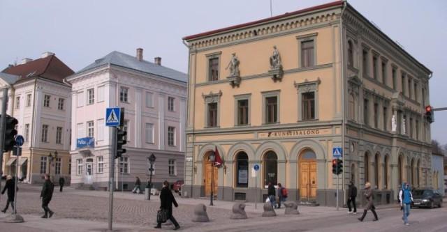 Центральная улица в Тарту