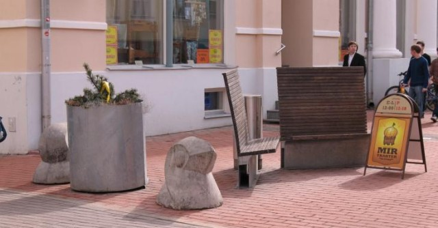 Улица в Тарту. Красота и чистота