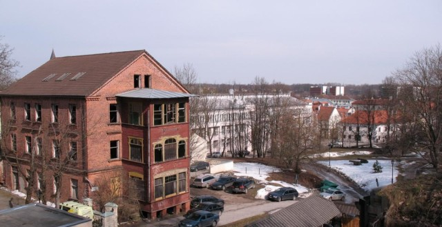 Заброшенный дом в Тарту