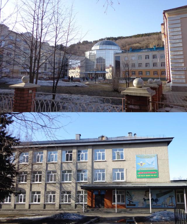 Национальная гимназия и общеобразовательная школа №1