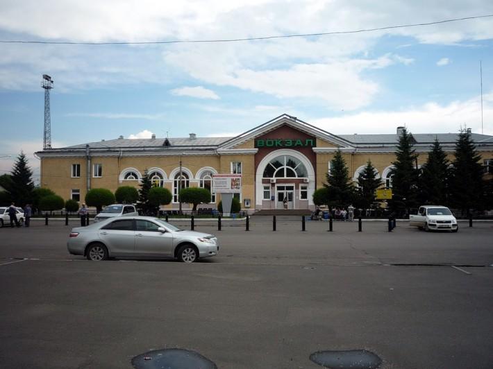 Вокзал станции Абакан