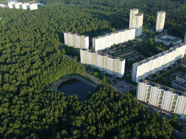 12 микрорайон Зеленограда – и вправду зеленый