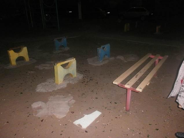 Действующая детская площадка в мкр-оне Бабаевского
