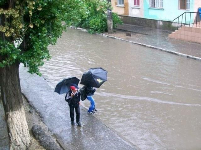 На сильные дожди канализационнная система города не рассчитана